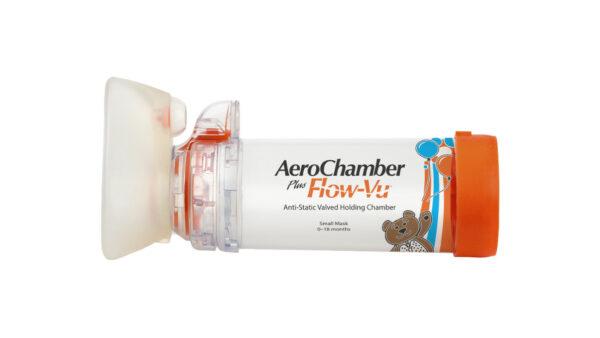 AeroChamber Plus Flow-Vu mit Babymaske Produktabbildung
