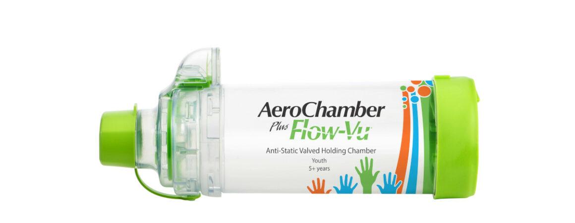 AeroChamber Plus Flow-Vu mit Mundstück (KIDZ) Produktabbildung