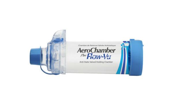 AeroChamber Plus Flow-Vu mit Mundstück Produktabbildung