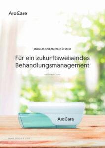 Broschüre: Aiocare (Spirometrie)