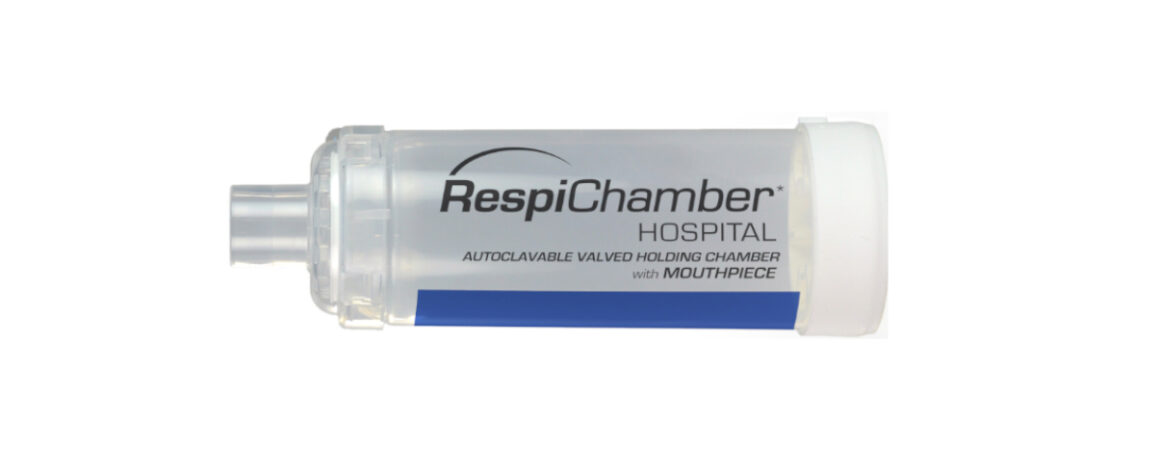 RespiChamber mit Mundstück - Produktabbildung