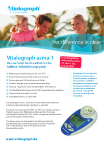 Broschüre: Vitalograph asma1